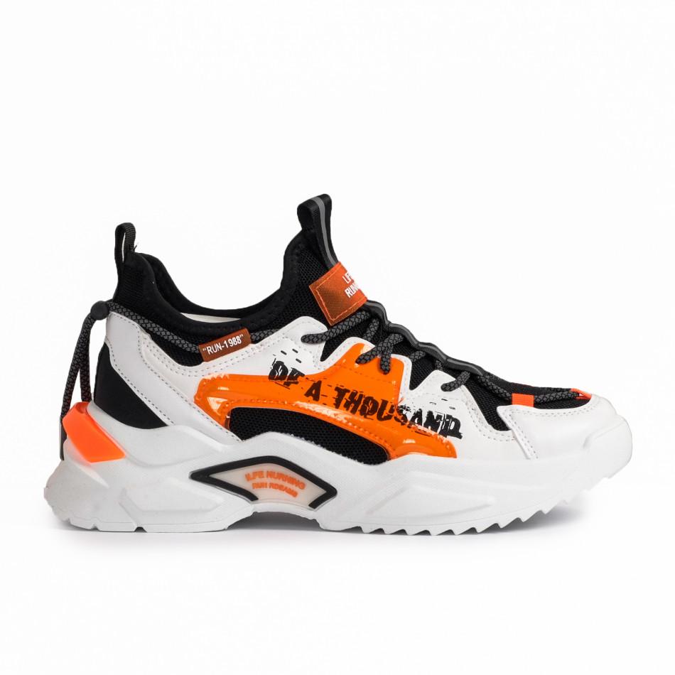 Teniși bărbați Fashion orange gr020221-13