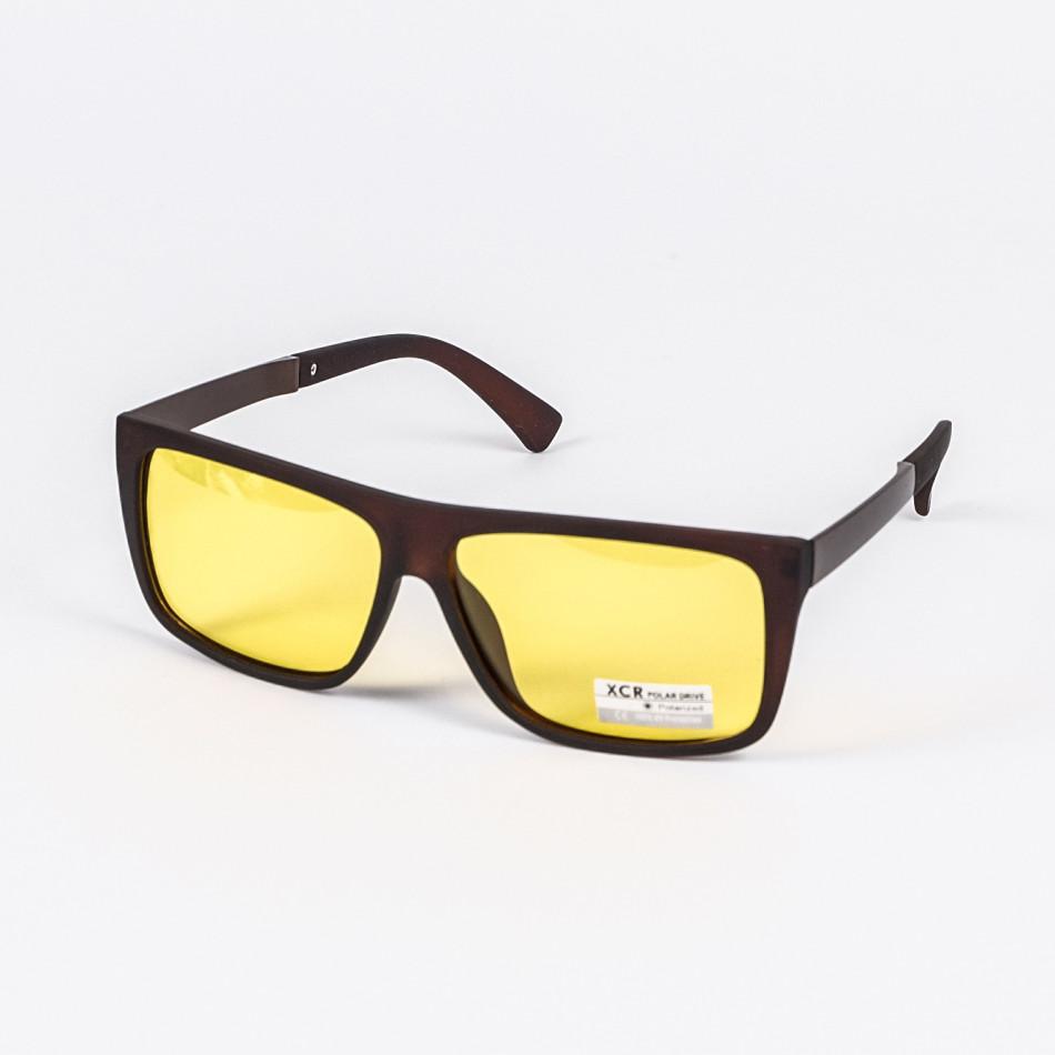 Ochelari de soare bărbați Polar Drive maro il200720-20