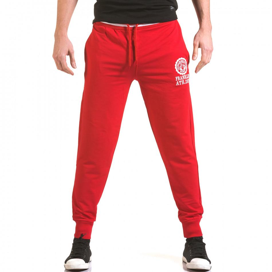 Pantaloni bărbați Franklin roșu il170216-132