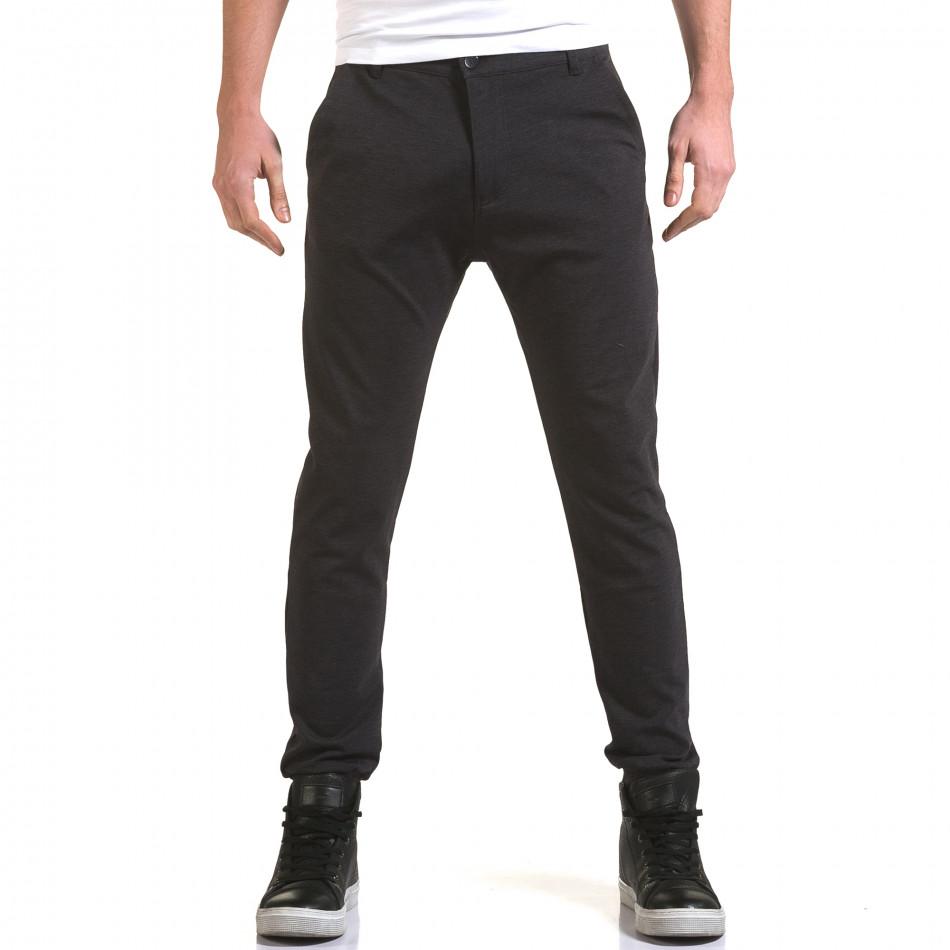 Pantaloni bărbați Jack Berry albaștri it090216-27