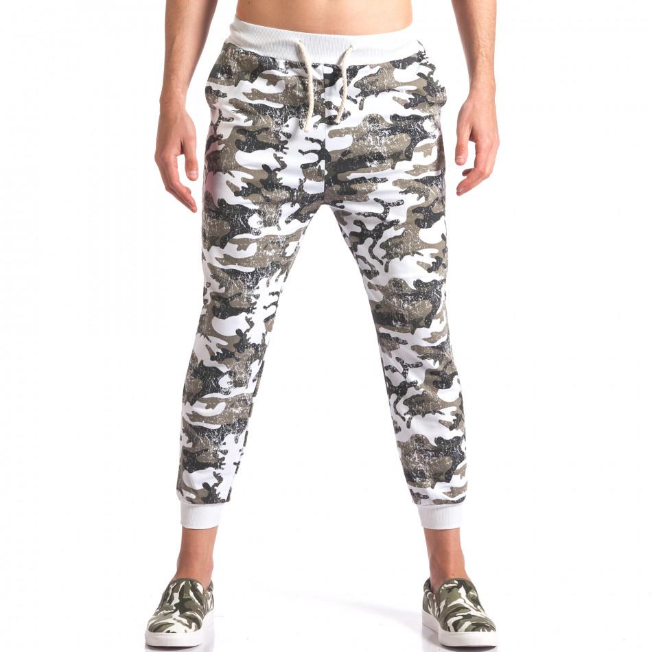 Pantaloni bărbați FM camuflaj it260416-34