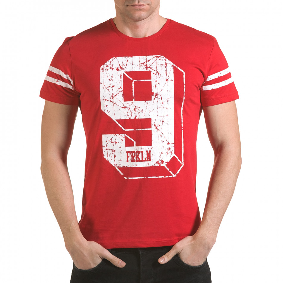 Tricou bărbați Franklin roșu il170216-18