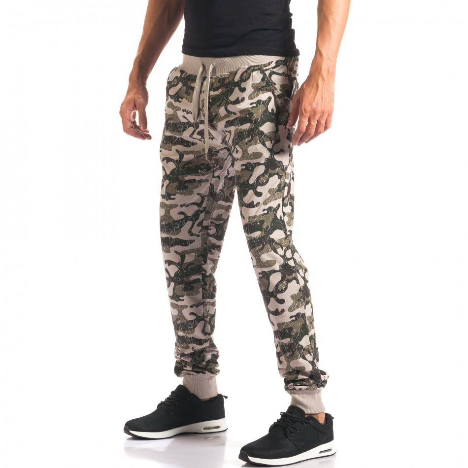 Pantaloni bărbați New Mentality camuflaj it160816-3