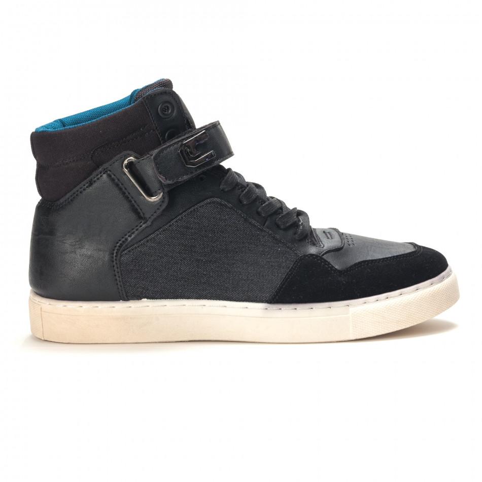 Pantofi sport bărbați Reeca negri it100915-20