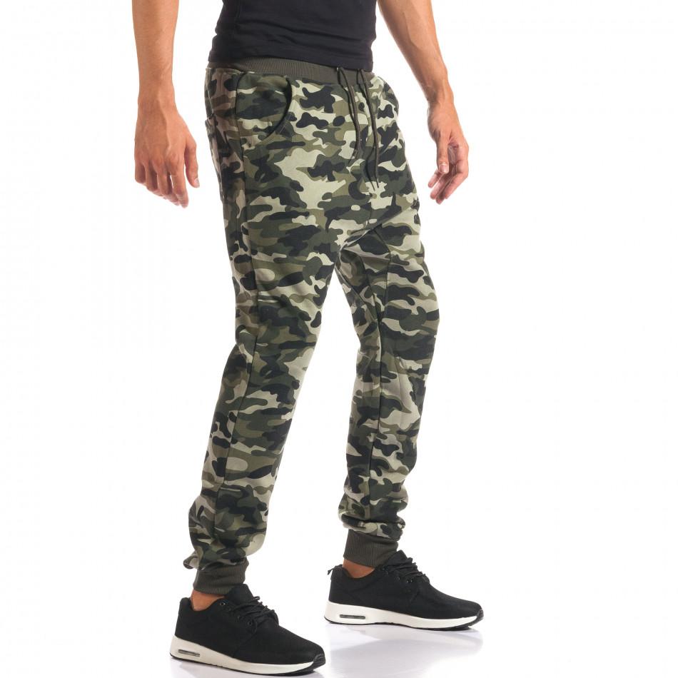Pantaloni baggy bărbați Marshall camuflaj it160816-5