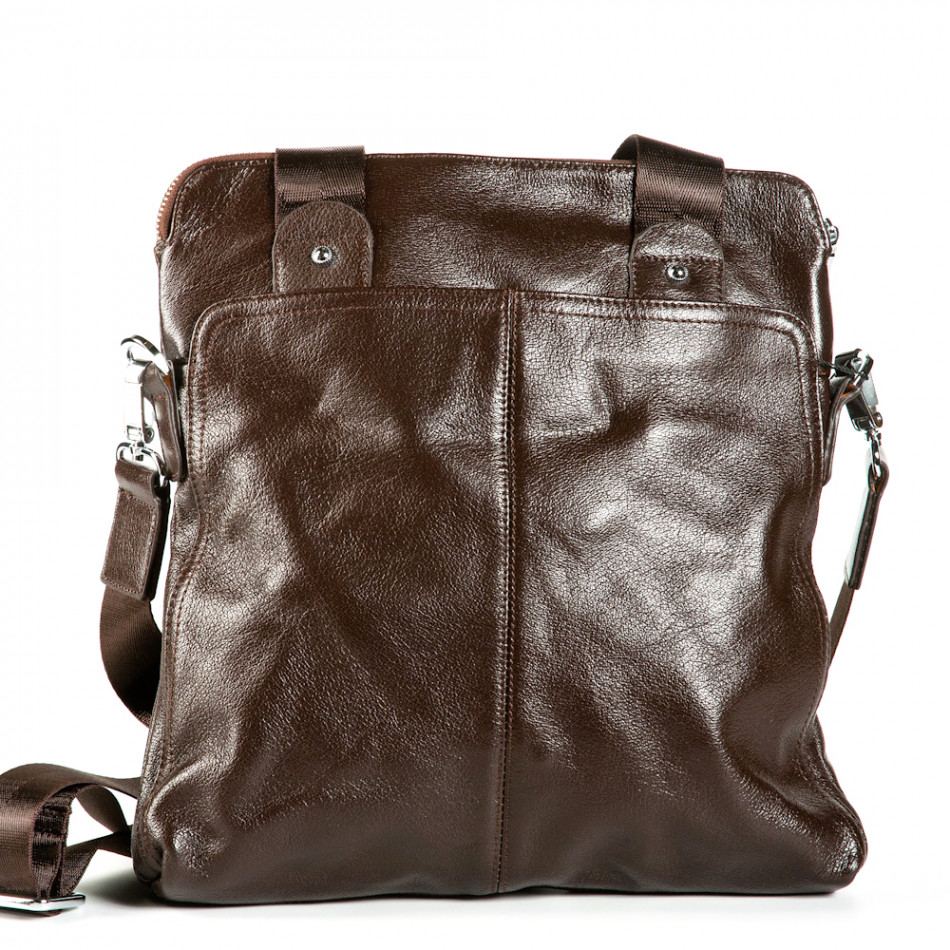 Geanta de umar Fashionmix maro bărbați 1182-brown