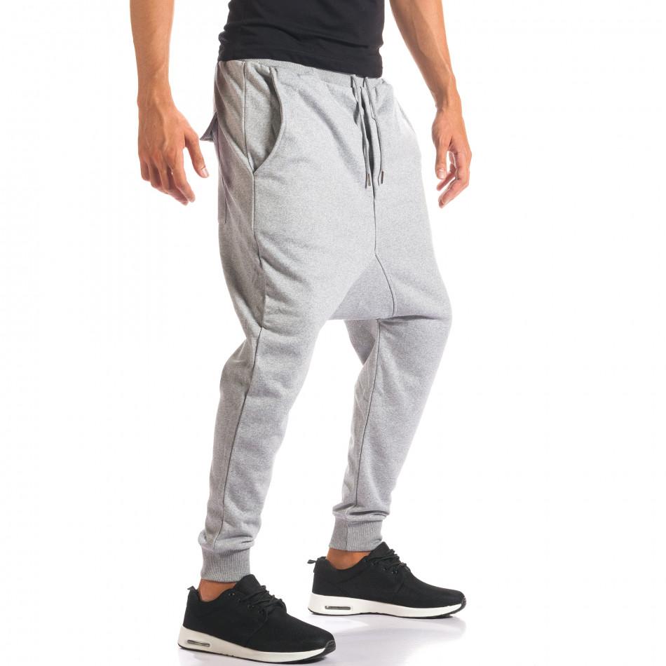 Pantaloni baggy bărbați Dontoki gri it160816-24