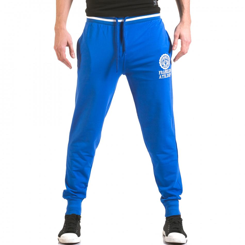 Pantaloni bărbați Franklin albastru il170216-131