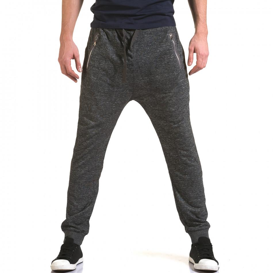 Pantaloni baggy bărbați Dress&GO gri it090216-36