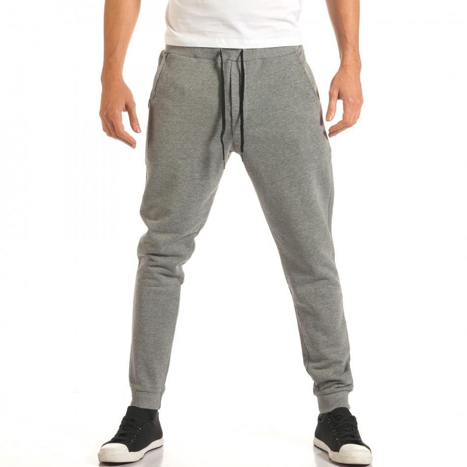 Pantaloni bărbați Roberto Garino gri it191016-25