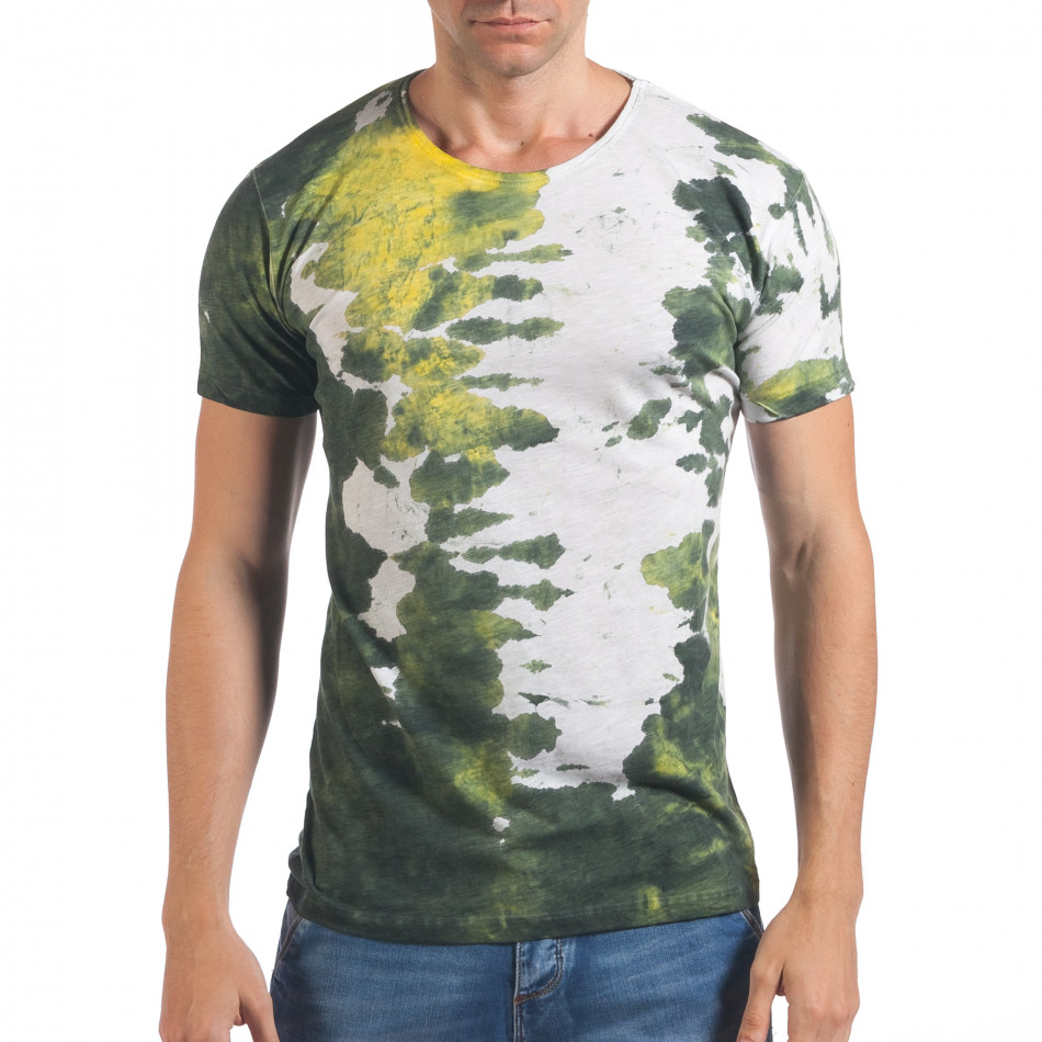 Tricou bărbați Lagos alb il060616-52
