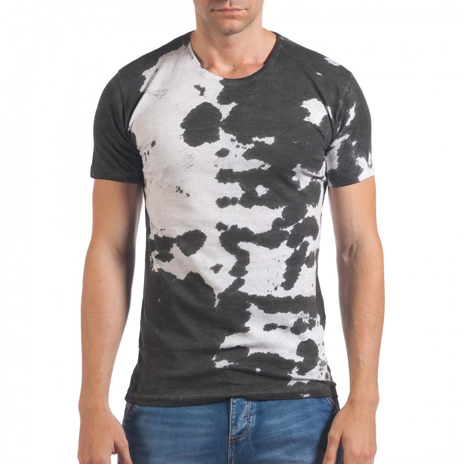 Tricou bărbați Lagos alb il060616-53