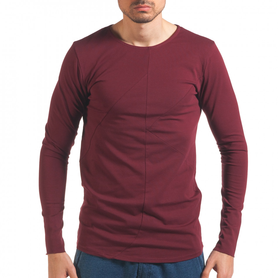 Bluză bărbați Black Fox roșie it250416-76