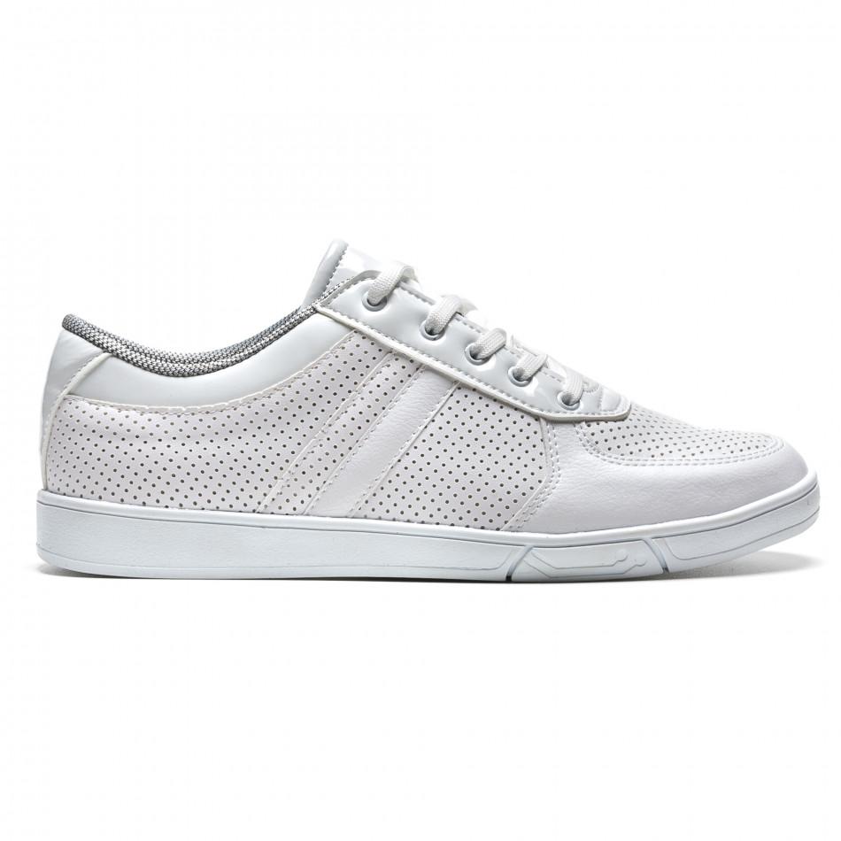 Pantofi sport bărbați Coner albi il160216-4