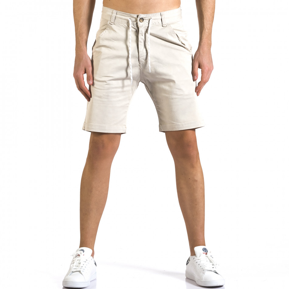 Pantaloni scurți bărbați Marshall bej it110316-40