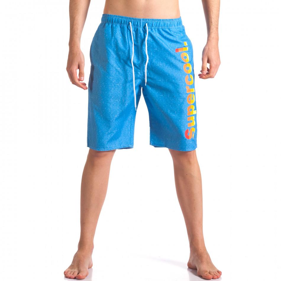 Costume de baie bărbați Austar Jeans albastru it250416-44