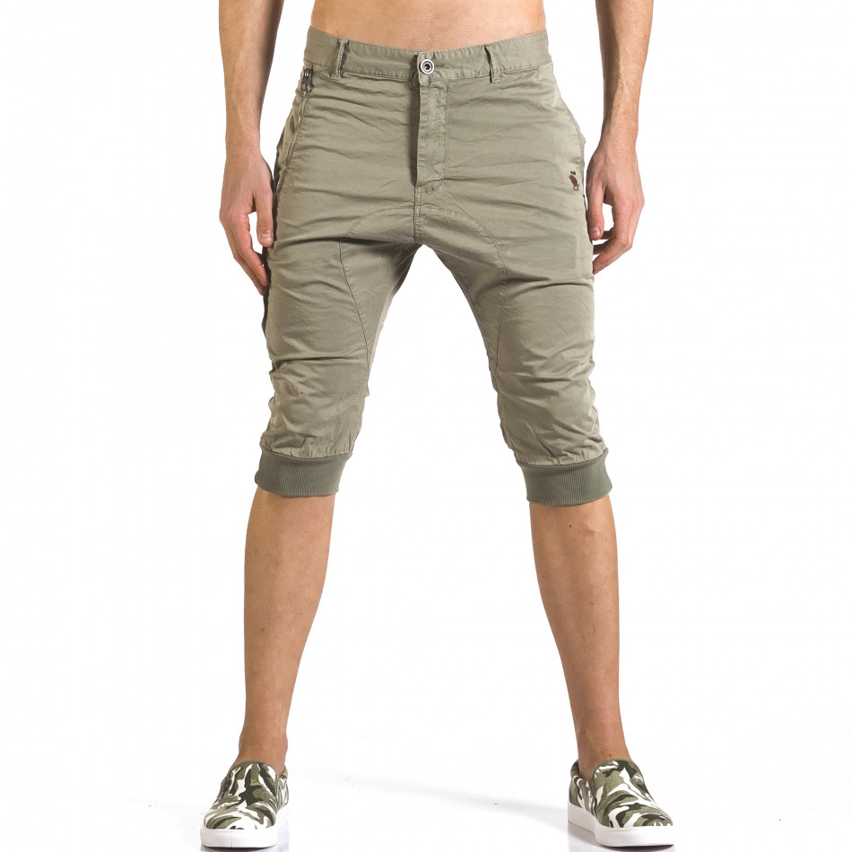 Pantaloni scurți bărbați TMK verzi it110316-52