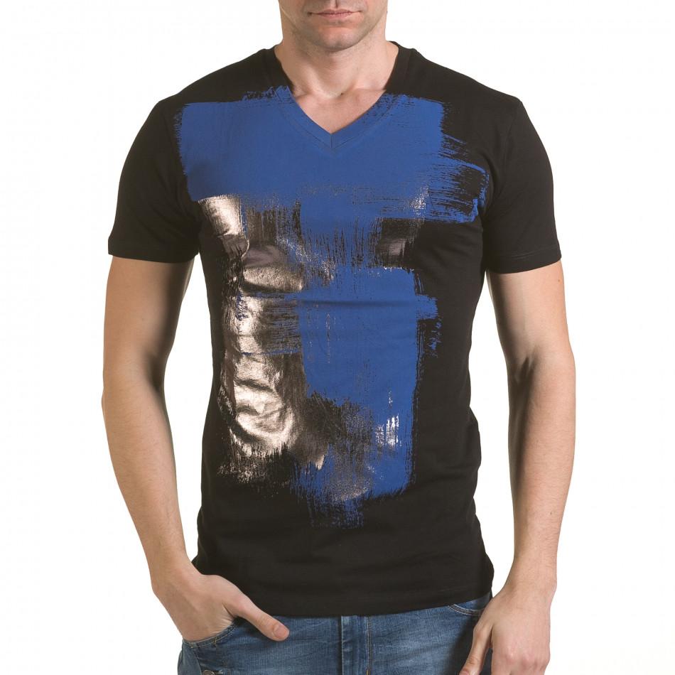 Tricou bărbați SAW negru il170216-42