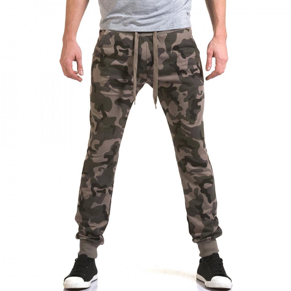 Pantaloni baggy bărbați Belmode camuflaj it090216-47