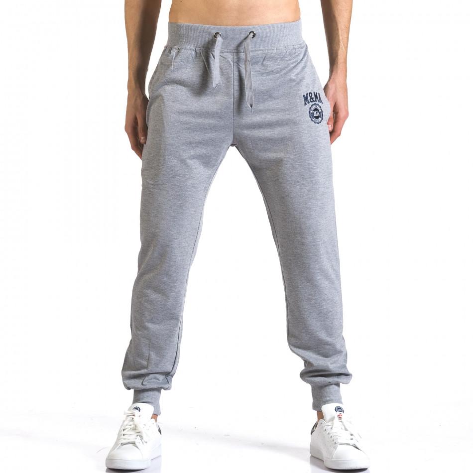Pantaloni bărbați Marshall gri it110316-19