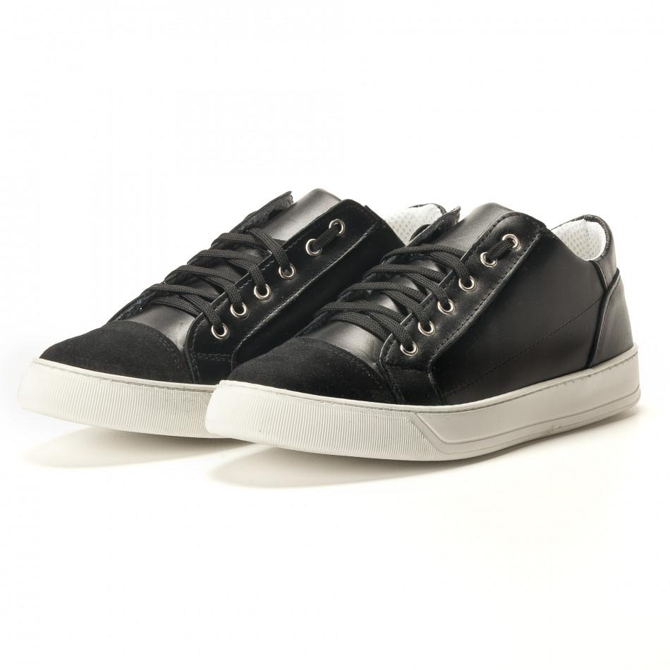 Teniși bărbați Shoes in Progress negri it100317-18