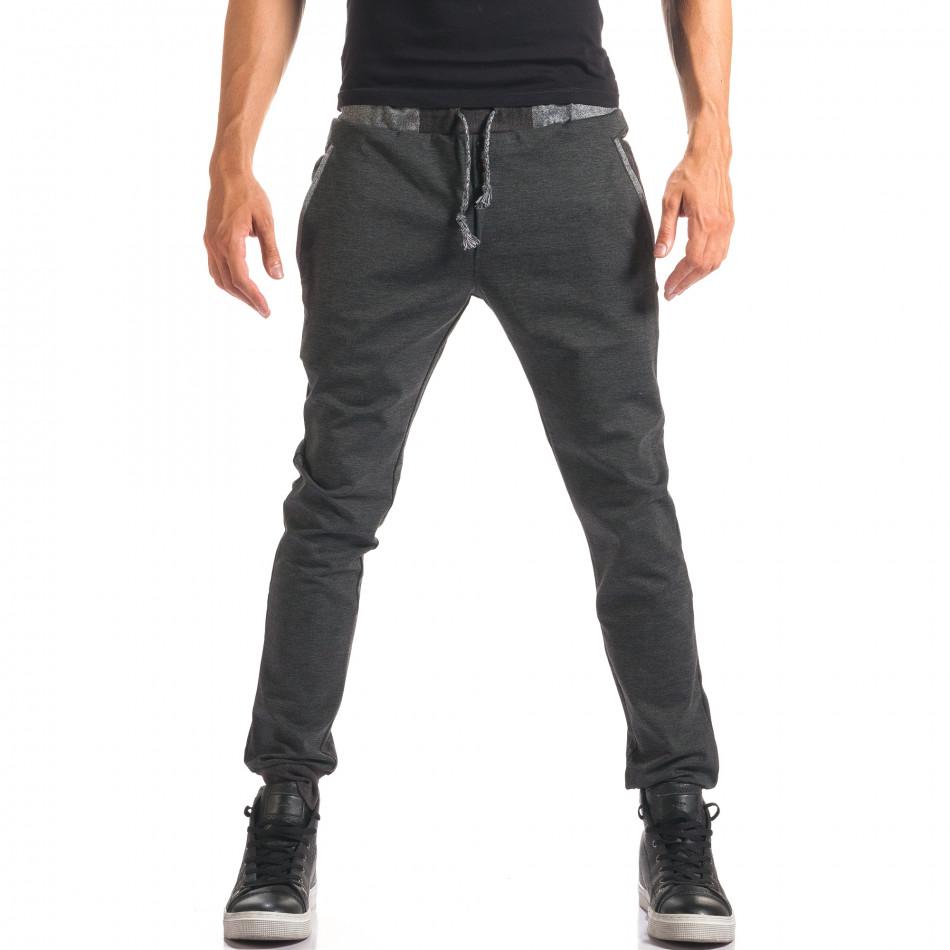 Pantaloni bărbați Jack Berry gri it150816-20