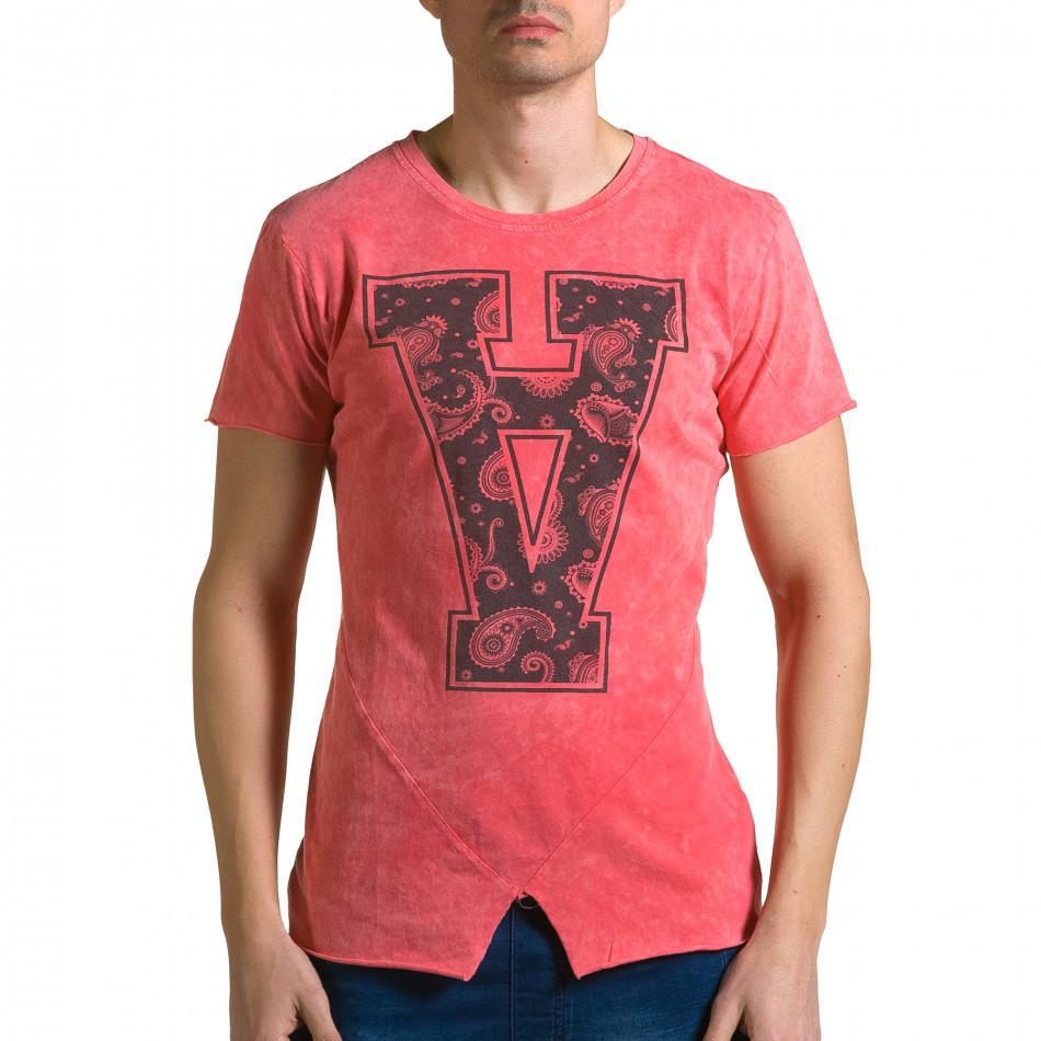 Tricou bărbați Adrexx roșu ca190116-47