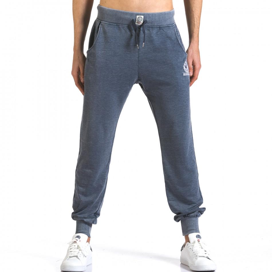 Pantaloni bărbați Marshall albastru it110316-22