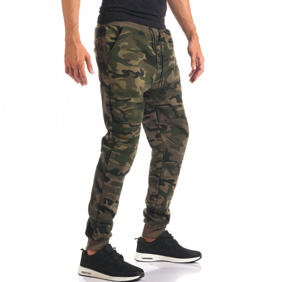 Pantaloni bărbați New Black camuflaj it160816-29