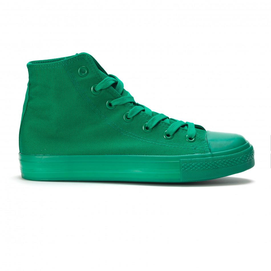 Teniși înalți verzi pentru bărbați it090616-32