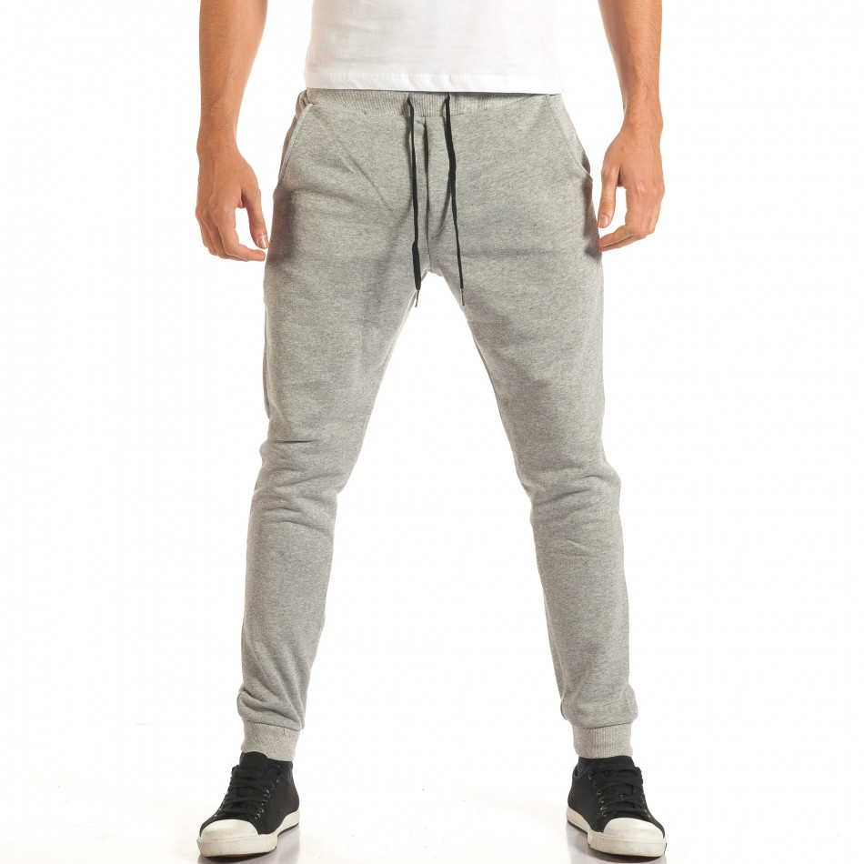 Pantaloni bărbați Roberto Garino gri it191016-24
