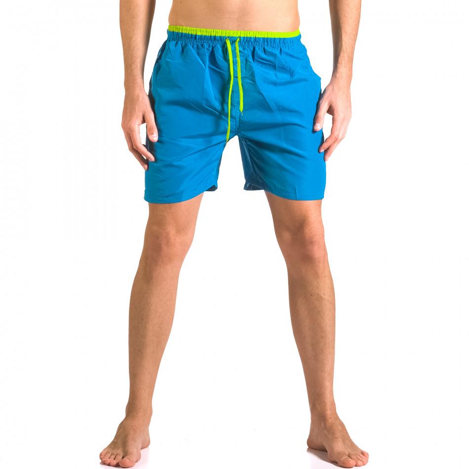 Costume de baie bărbați Yaliishi albastru ca050416-24