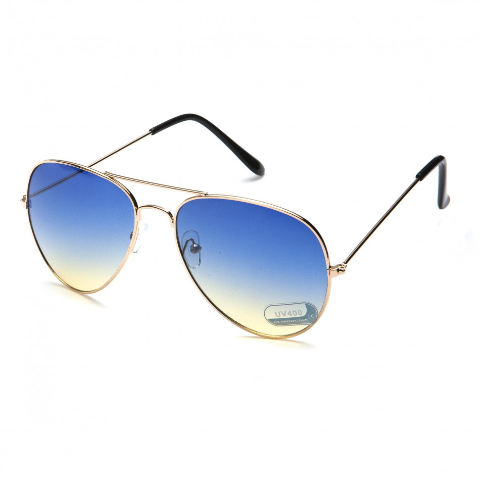 Ochelari de soare bărbați Bright albastră it151015-1