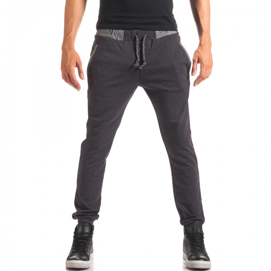 Pantaloni bărbați Jack Berry albaștri it150816-21