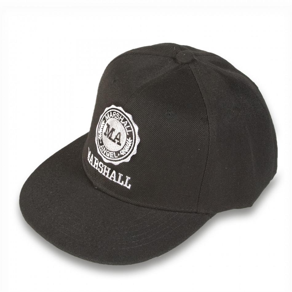 Șapcă bărbați Marshall neagră it220316-5