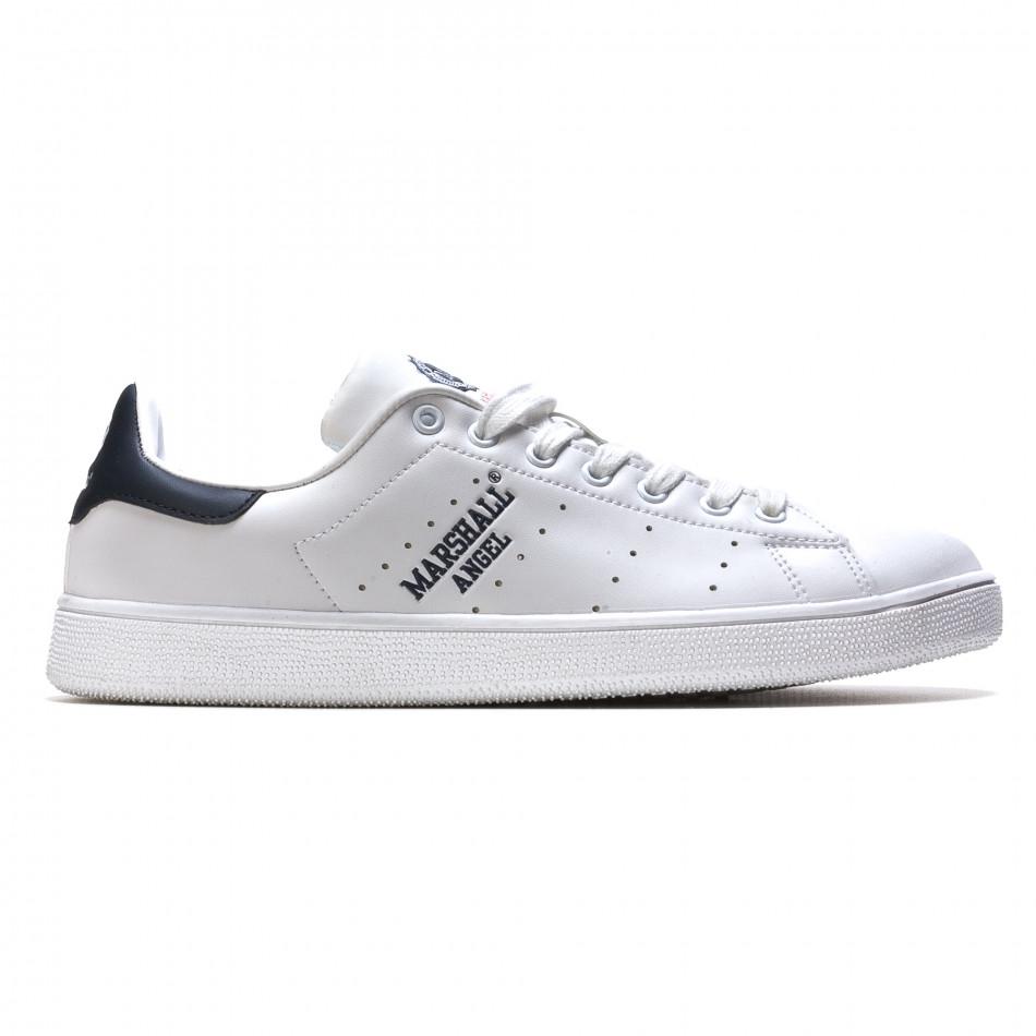 Pantofi sport bărbați Marshall albi it110316-100