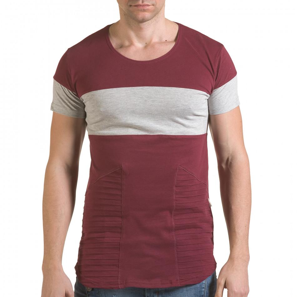 Tricou bărbați Click Bomb roșu il170216-75
