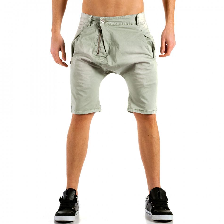 Pantaloni scurți bărbați X-three gri ca300315-31