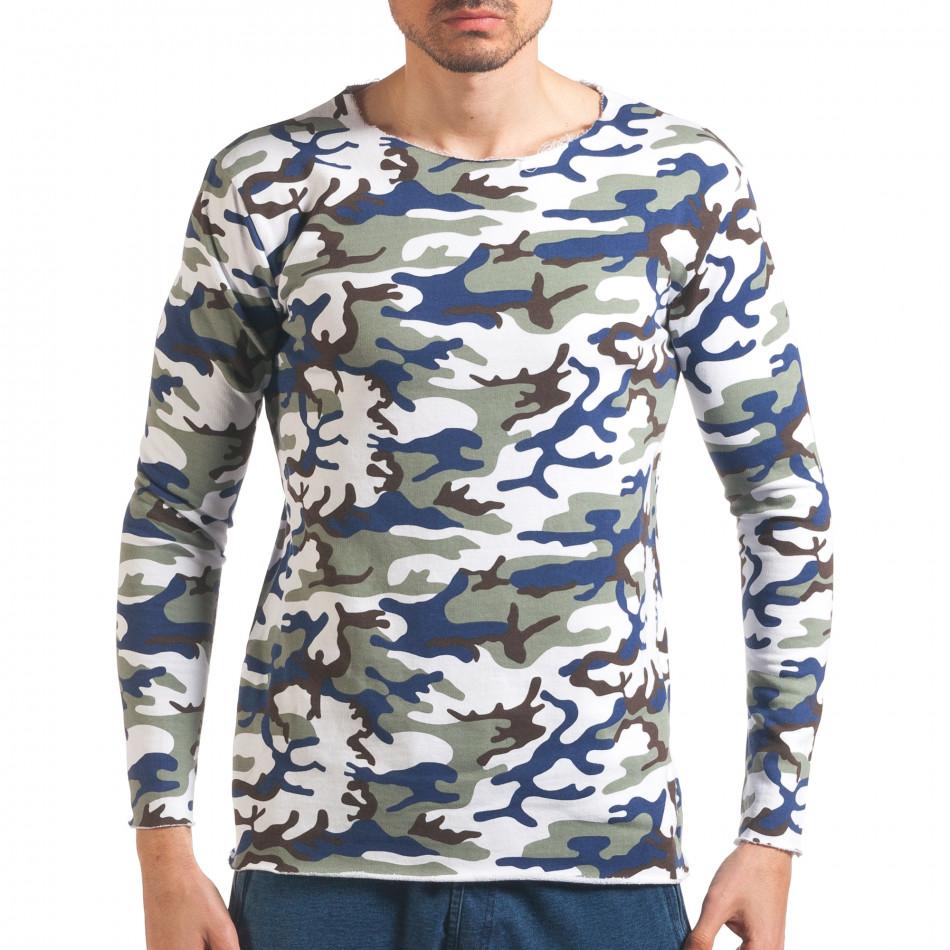 Bluză bărbați Wilfed camuflaj it250416-72