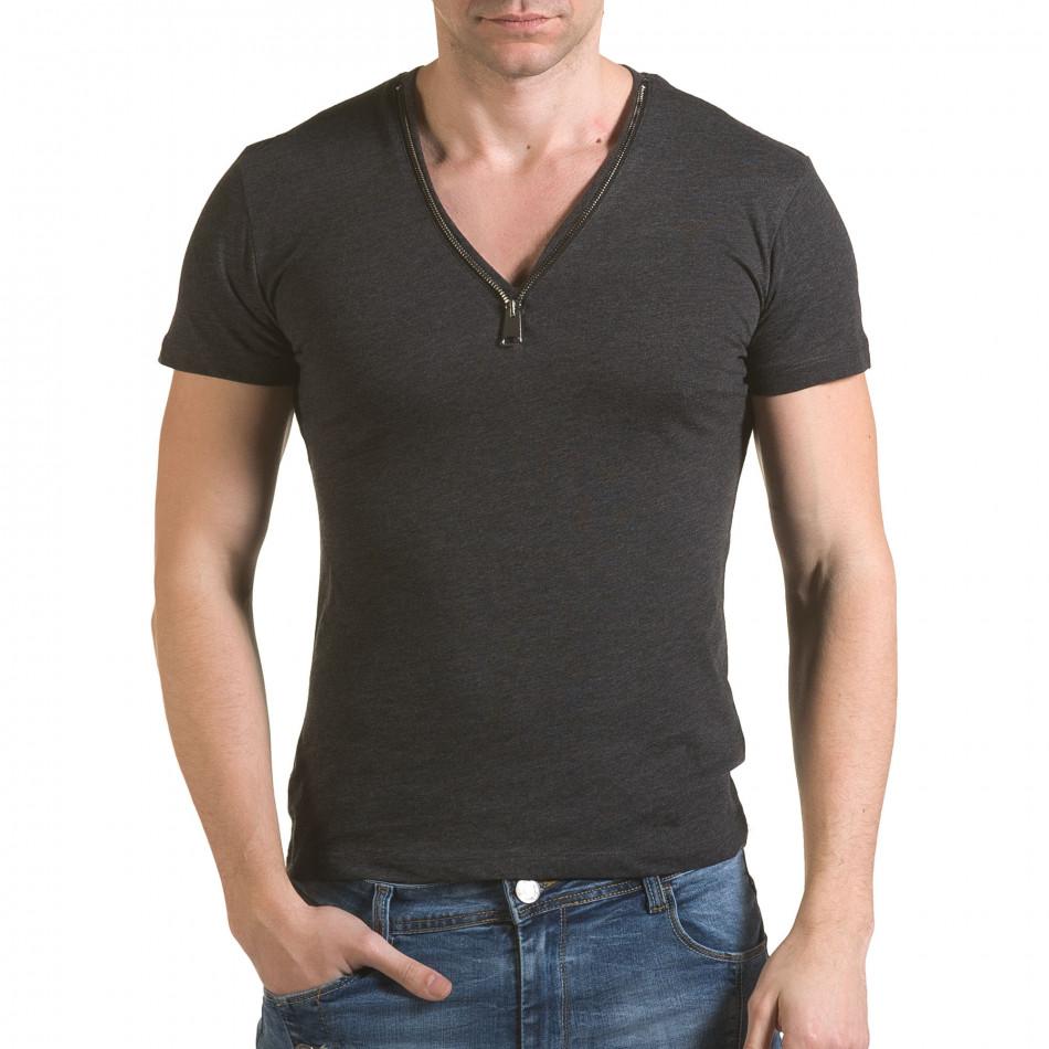 Tricou bărbați SAW gri il170216-64