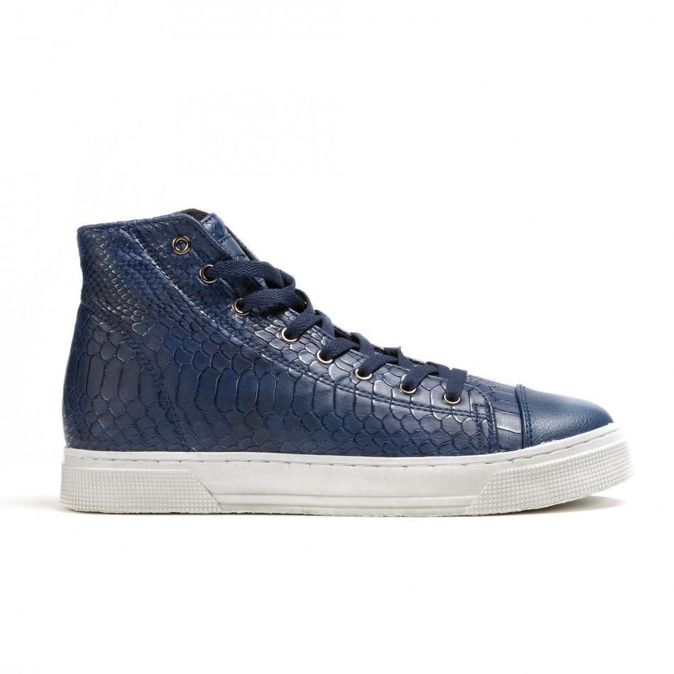 Pantofi sport bărbați Niadi albaștri it100915-6