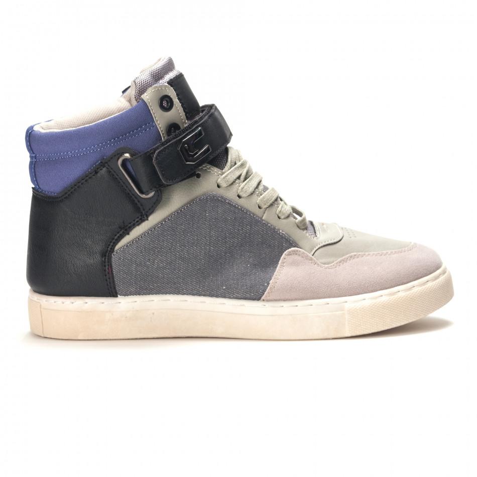 Pantofi sport bărbați Reeca gri it100915-17