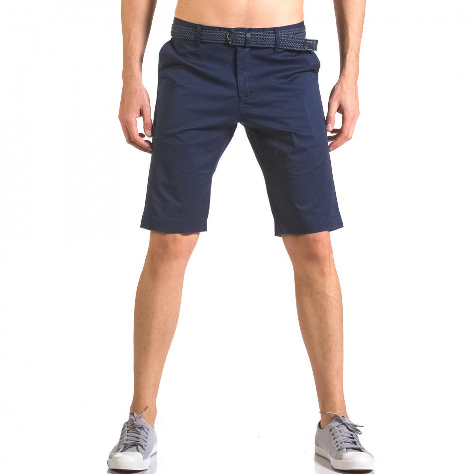 Pantaloni scurți bărbați Baci & Dolce albaștri ca050416-58