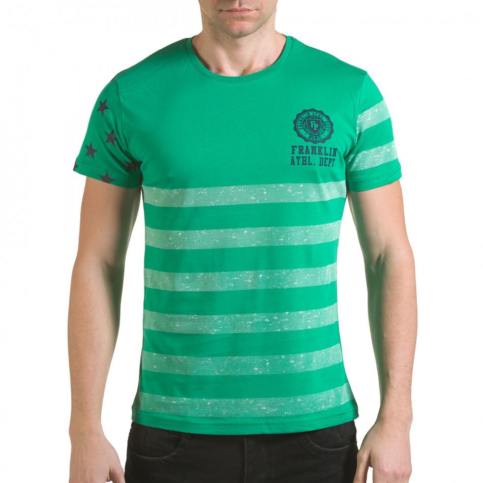 Tricou bărbați Franklin verde il170216-11