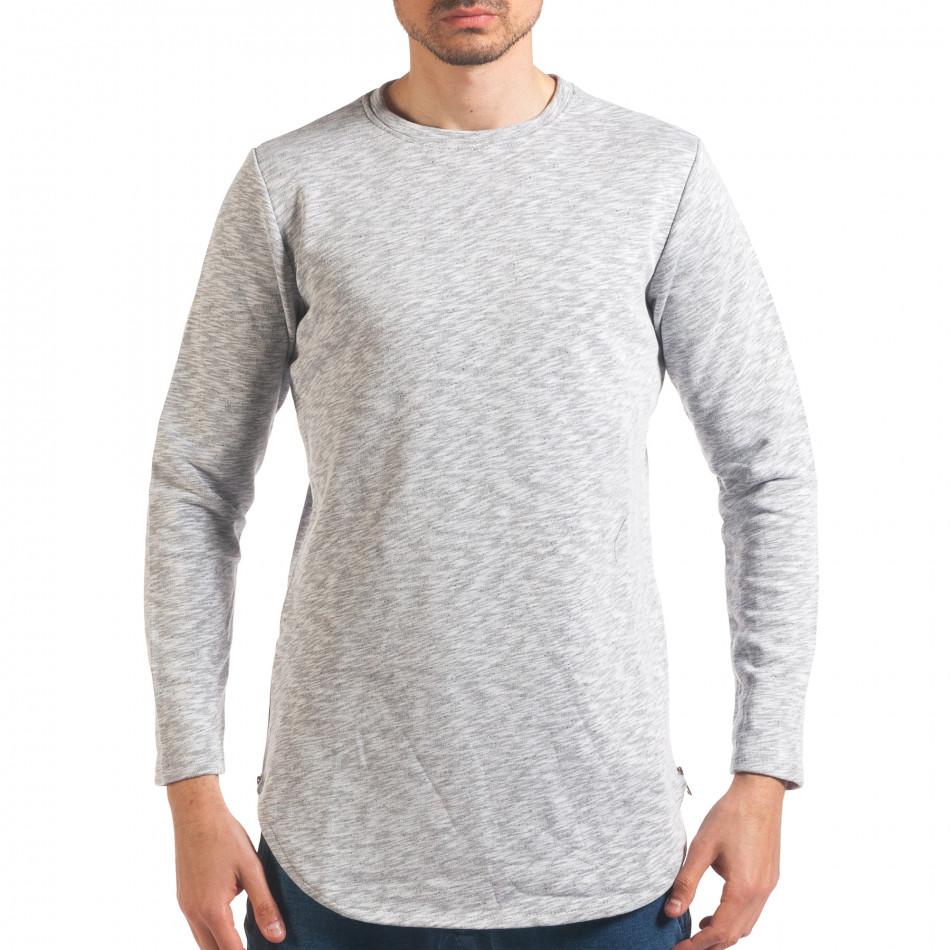 Bluză bărbați Uniplay gri it250416-84