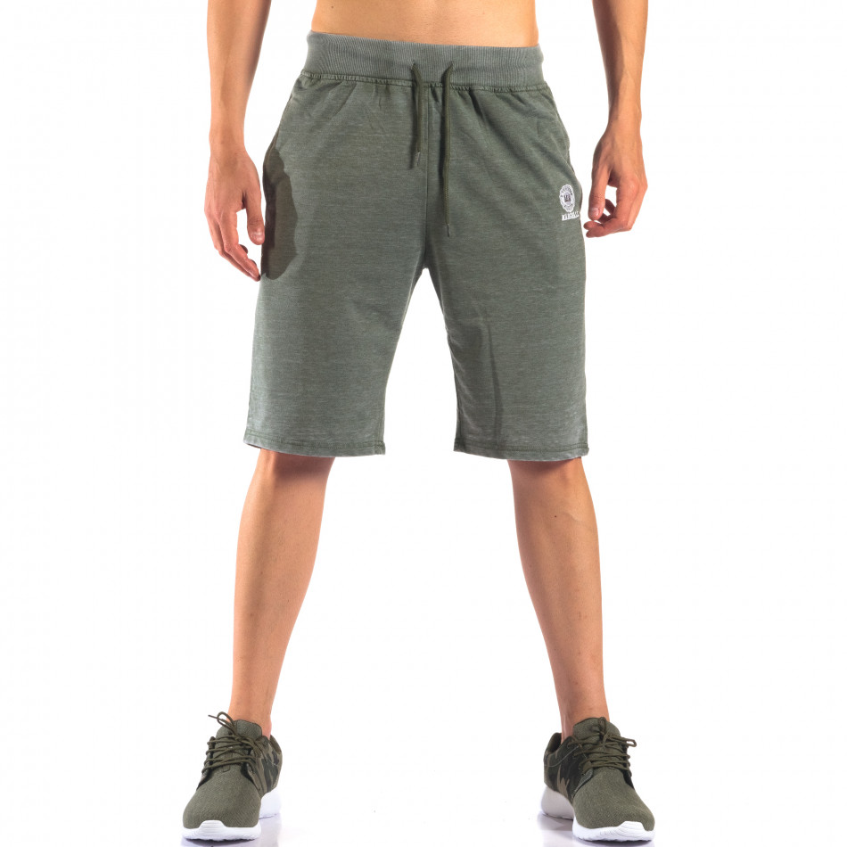 Pantaloni scurți bărbați Marshall verzi it160616-2