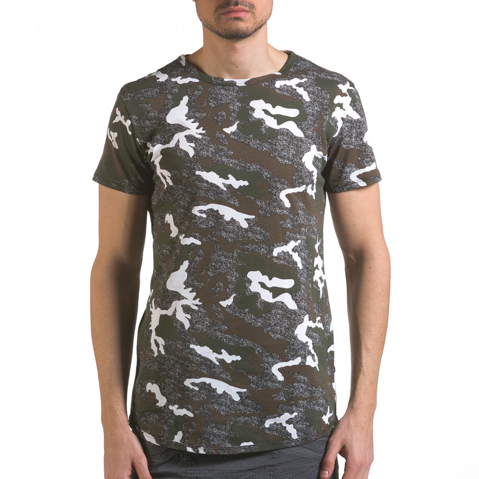 Tricou bărbați Uniplay camuflaj it110316-97