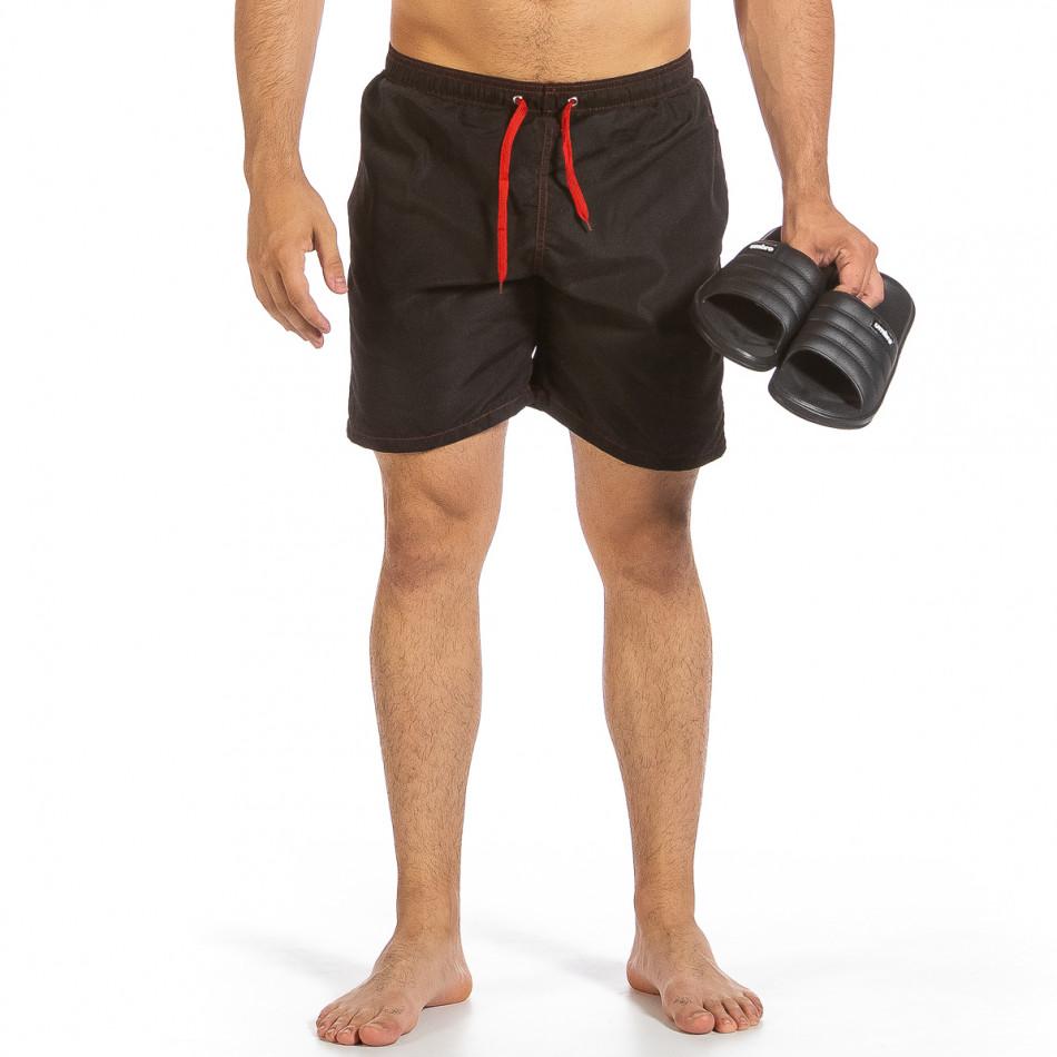 Costume de baie bărbați Yaliishi negru it240621-19