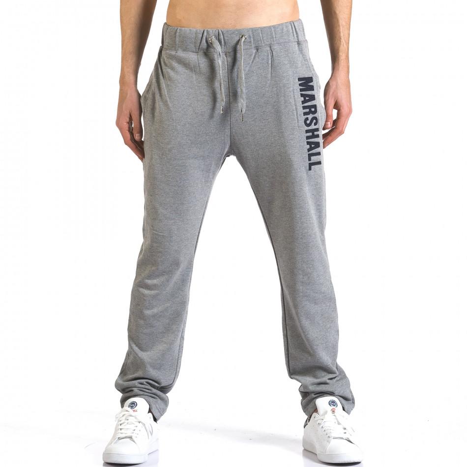 Pantaloni bărbați Marshall gri it110316-16