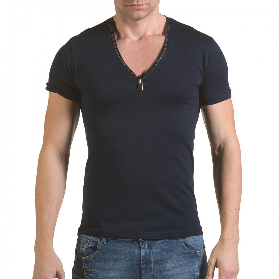 Tricou bărbați SAW albastru il170216-66